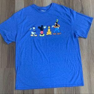 Disney Shirts - Disney Blue XL Mens Tee NWT